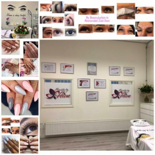 Nails, Wimperextensions, Wenkbrauwen, Lash lifting