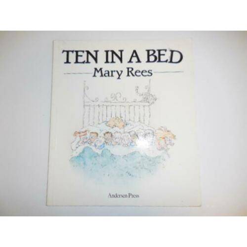 English Book Ten in a Bed, Mary Rees