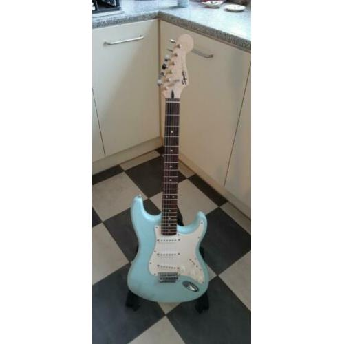 Fender Squier Bullet baby blue mint condition!