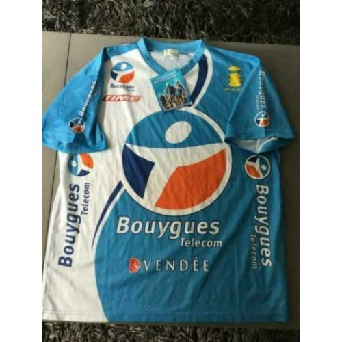 Bouygues wielershirt t-shirt tour france xl nieuw wielrennen