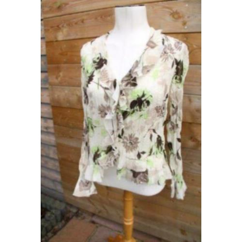 Blouse beige One Touch mt 42